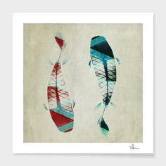 """""""反対派"""", Numbered Edition Fine Art Print by Fernando Vieira - From $25.00 - Curioos"""