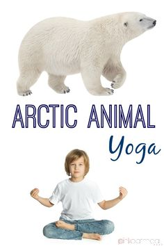 Arctic Animal Yoga- A super fun way to incorporate yoga this winter or  with a unit-Pink Oatmeal