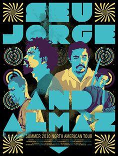 BRLSQ Seu Jorge poster
