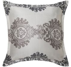 Bayview Pearl is vintage luxe.Features:PolyesterWoven jacquardClassic damask style motifsLightly textured, ribbed groundSelf-flangePlain dye cotton and polyester matching pearl reverse Shop Till You Drop, Quilt Cover Sets, Linen Bedding, Damask, Modern Furniture, Tapestry, Texture, Quilts, Pearls