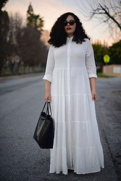 39 Stunning Plus Size Dress To Make Excellent Style Ideas - Plus Sized Dress - I. at Diyanu at Diyanu Long African Dresses, Latest African Fashion Dresses, African Print Fashion, Plus Size Dresses, Plus Size Outfits, Shirt Bluse, Looks Chic, African Attire, Mode Style