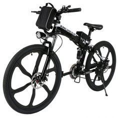 ECOTRIC New Fat Tire Folding Electric Bike Beach Snow Bicycle ebike electric moped Electric Mountain Bicycles … E Mountain Bike, Mountain Bike Reviews, Full Suspension Mountain Bike, Electric Mountain Bike, Black Mountain, Electric Bike Review, Electric Moped, Best Electric Bikes, Sports