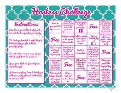 Hostess Challenge Game for Locket Direct by HighCottonSouthernCo