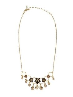 Champagne Rose Necklace by Pilgrim available at Chic Peek #jewelry #chicpeek #style #accessory #chic @Chic ♡ Peek