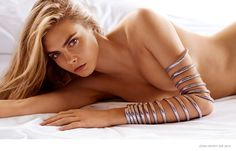 """Cara Delevingne - Added to Beauty Eternal - A collection of the most beautiful women. thebeautymodel: """"Cara Delevingne for John Hardy Spring 2015 """" Cara Delevingne Photos, Cara Delevigne, Poppy Delevingne, Kendall Jenner, Jewelry Ads, Jewelry Branding, Jewellery, Body Jewelry, Gq"""