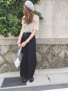 Sato*さんのコーディネート Waist Skirt, High Waisted Skirt, 2way, Japanese Style, My Style, Skirts, How To Wear, Pants, Handmade