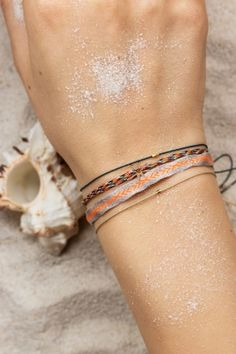 Get tropical with our colorful bracelets from GUANABANA #bracelets #summer #jewelry NEWONE-SHOP.COM