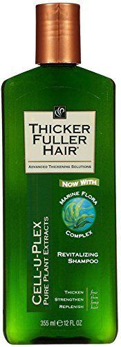 Thicker Fuller Hair Revitalizing Shampoo, 12 Fluid Ounce -- 6 per case.: Thicker Fuller Hair Revitalizing Shampoo, 12 Fluid Ounce -- 6 per case. Hair Regrowth Shampoo, Hair Shampoo, Solid Shampoo, Shampoo Bar, Purifying Shampoo, Fuller Hair, Oily Hair, Healthy Hair Growth, Strong Hair