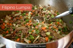 Filipino Lumpia are always a crowd favorite at any small or large gathering! These Filipino egg rolls are crispy, flavorful, and SO delicious! Lumpia Recipe Filipino, Filipino Egg Rolls, Filipino Recipes, Asian Recipes, Filipino Food, Lumpia Recipe Beef, Filipino Dishes, Pinoy Recipe, Wrap Recipes