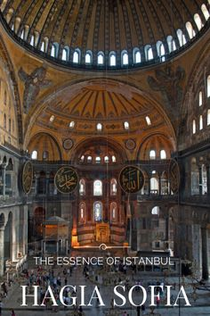 Aya Sofya, Hagia Sophia or, in English, the Church of the Divine Wisdom, is a mighty structure defining the heart and soul of Istanbul, melding the characteristics of a city that crosses time, continent and culture.  If you only have time to visit one sight in Istanbul this is it.