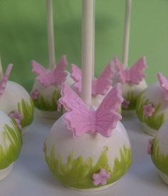 Image gallery for : garden cake pops