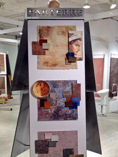 From earth to art :: Parterre Vinyl Flooring at #NeoCon13 www.parterreflooring.com