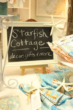 Announcing: Starfish Cottage at the new Shabby Shack in Apollo Beach, FL a Virtual Tour. www.starfishcottageblog.com