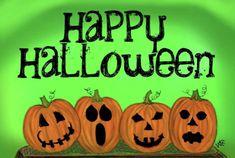 In The Tree, Pumpkin Carving, Happy Halloween, Recipes, Pumpkin Carvings, Ripped Recipes, Cooking Recipes