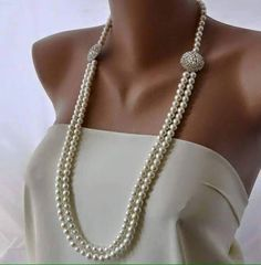 champagne and pearls...