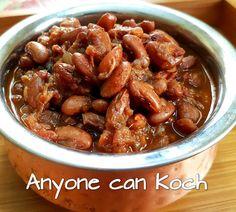 OPOS Rajma Masala (Red Kidney Beans)   Anyonecankoch