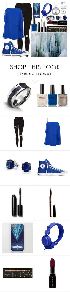 """""""Feels like I am falling down a rabbit hole"""" by lorraine246 ❤ liked on Polyvore featuring Bling Jewelry, Topshop, TIBI, Converse, Bobbi Brown Cosmetics, Marc Jacobs, Urbanears, Smashbox, Carolina Glamour Collection and women's clothing"""