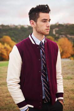 Varsity + tie