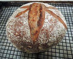 Sourdough Honey Whole Wheat Multigrain Bread