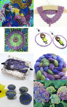 Purple in Bloom by Vicki Bolen on Etsy--Pinned with TreasuryPin.com