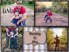 Daddy & Me Photo Sessions