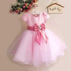 Friendly Christmas Tutu Sashes Girl Dress Little Princess Lace Dress Cake Summer Clothes Kids Clothes Birthday Pink Vestido Menina 3-7y Products Are Sold Without Limitations Dresses Mother & Kids