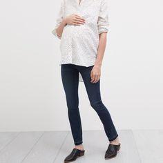 madewell maternity skinny jeans #denimmadewell #denimeveryday