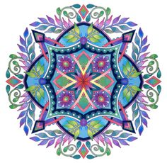 Mandalas Set 1 Coloring Pages for Adults by emerlyearts on Etsy