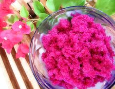 Foodiva's Kitchen: Red Dragonfruit Granita