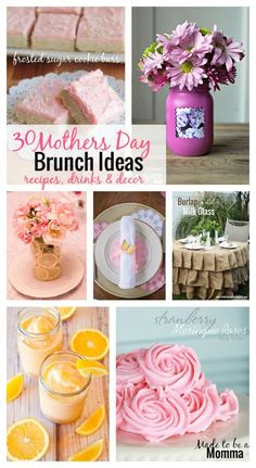 Mothers Day Brunch Ideas - Made To Be A Momma