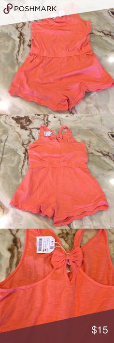 Zara Girls Collection Romper Organic cotton 13/14 Zara Girls Romper Size 13/14, color pink, Organic cotton, new with tag Zara Bottoms Jumpsuits & Rompers
