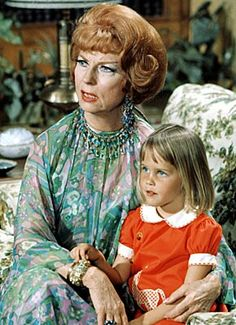 Endora and Tabitha: By introducing witchcraft into suburban America, the image of the old crone was gradually eroded