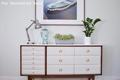 Mid Century LA Perirod Modern Dresser wd-4