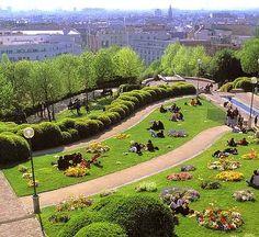 Belleville Park, Paris