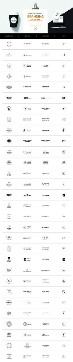 30 Premade Logos – Minimal Edition by AgataCreate on @creativemarket #BADGE #BADGES #LABEL #LOGO #LOGOS #BLACK #JETBLACK #MINIMAL #ELEGANT #READY #TO #USE #PREMIUM #RETRO #VINTAGE #FEMININE #MASCULINE #TYPOGRAPHY #TYPO #KIT #HIPSTER #WOMAN #LADY #MAN #BRAND #BRANDING #GEOMETRIC #CIRCLE #DECORATIVE#CORPORATE #DESIGN #CORPORATE #DESIGN #FASHION #BUNDLE #SET #BLOG #BLOGGER #EDITABLE #READY #USE #PREMADE #PRINT #MINIMALISTIC #SIMPLE #CLEAN #MODERN #MINIMALIST #ILLUSTRATOR #PHOTOSHOP
