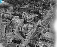 India House, Drury House and Bush House under construction on Aldwych, London, 1921 House Under Construction, India House, English Heritage, London Life, Old London, London Photos, Cover Photos, Big Ben, North America