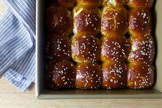 parker house pretzel rolls