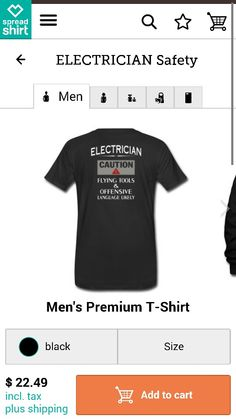 122ea940 60 Best electrician t shirts images | Christmas Gift Ideas ...