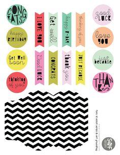 free printable Pillow Box Phrases
