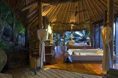 Seychelles: Naturally Amazing Villa Designs: Incredible Bathroom Design Private Island Seychelles Villa Design