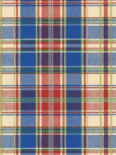 The pattern on this plaid wallpaper looks like it's straight off of a pearl snap shirt.  | AmericanBlinds.com