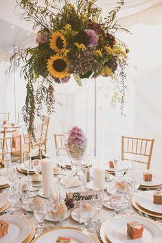 http://www.modwedding.com/2014/10/30/effortlessly-beautiful-rustic-wedding-new-jerseys-rodes-fireside/ #wedding #weddings #wedding_centerpiece #wedding_reception photo: Amie Schroeder Photography