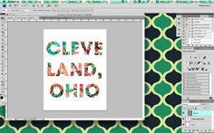 Photoshop Tutorial: Picture Over Text