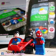 Our #handmade #love is in the air. Visit my #Plushism #EtsyShop www.etsy.com/... #SamsungGalaxyNoteEdge #GalaxyNoteEdge #ToyPhotography #DCcomics #Batman #Spiderman #Marvel #Superman