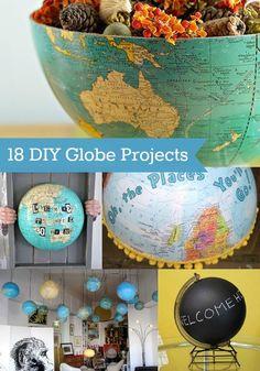 DIY globe project