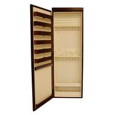 The 45 Inch Wall Mounted Lighted Jewelry Armoire And its a full