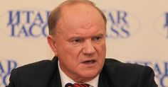 """""""Russian Constitution doesn't work"""" Communist Party leader Gennady Zyuganov said that Russia has not built the welfare state, which is clearly stated in the Constitution"""