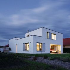 Contemporary and Sustainable Dunaujvaros Residence by ZSK Architects