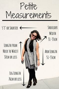 Want to know if you're truly petite? Check out these simple measurements that brands use on their petite sizing   collectinglabels.com