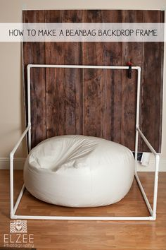 An Easy Elzee – Beanbag Backdrop Frame » Miami-Dade Newborn and Child Photographer Photography